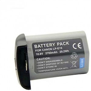 Digital Camera battery replacement for Canon LP-E19 Eos 1DX, 1DX Mark 2, 1DS Mark 3, 1D Mark 3, 1D Mark 4