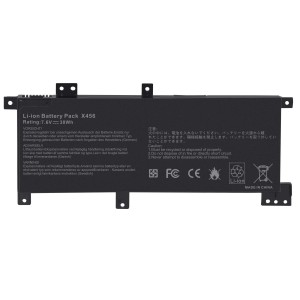Laptop battery replacement for ASUS X456 X456UA X456UF X456UJ X456UR X456UV Part No. 0B200-01740100 C21N1508