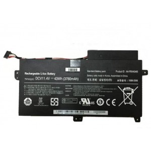Laptop battery replacement for Samsung NP450R5V ATIV Book 4 450R5V 15.6-inch