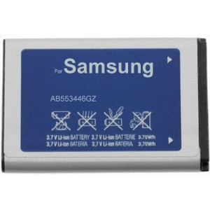 Mobile phone battery replacement for Samsung AB553446GZ AB553446GZB AB553446GZBSTD U310 U340 U350 U410 U430