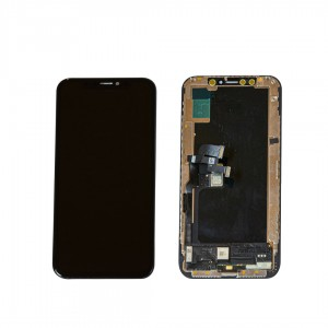 iPhone XS Black LCD and Digitizer Glass Screen Replacement (OLED)